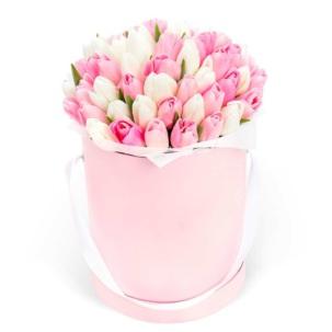 """Цветы в коробке """"Чувства"""""""